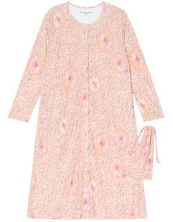 【シルク100%】 パジャマ(ワンピース)(巾着付)