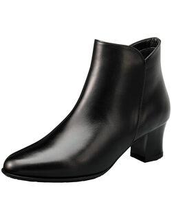◆◇晴雨兼用◇◆ 5.5cmヒール・ショートブーツ スタイリッシュショートブーツ