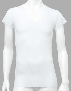 アウターにラインが出にくい メンズシャツ(半袖)