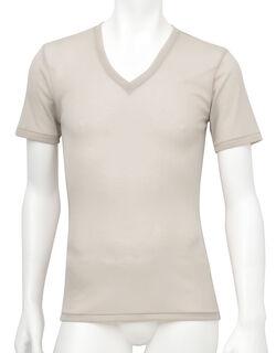 薄い、軽い、涼しい メンズシャツ(半袖)