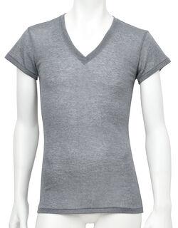 薄い、軽い、涼しい 一分袖シャツ