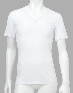 薄い、軽い、涼しい 半袖シャツ