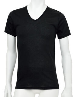 肌さらさら綿100 半袖シャツ