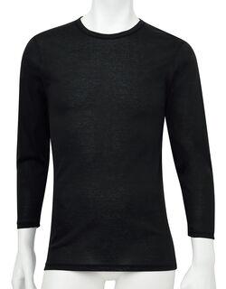 肌さらさら綿100 長袖シャツ