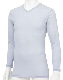薄軽暖 メンズシャツ(長袖)