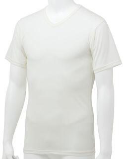薄軽暖 メンズシャツ(半袖)