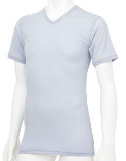 薄軽暖 半袖シャツ