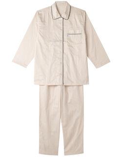 綿サテン パジャマ