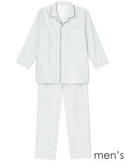 三重ガーゼ メンズパジャマ