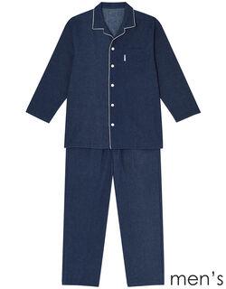 高島ネル メンズパジャマ