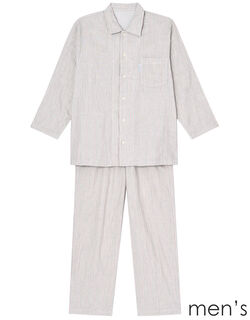 二重ガーゼ メンズパジャマ
