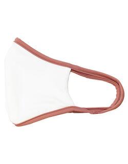【洗って使える】【UPF50+】水着素材 パイピング仕様 マスク