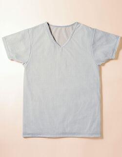 薄くて軽い・吸汗速乾 メンズシャツ(半袖)