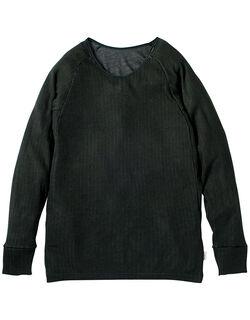 丸首長袖シャツ