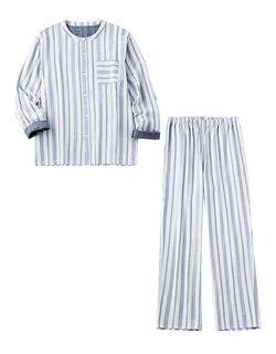 ダブルガーゼコットン メンズパジャマ