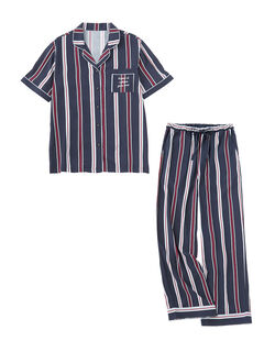 プリンテッドリラックスシャツ パジャマ