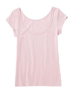 【綿94%・吸湿発熱であったか】It'sホッティナチュラルコットンキャップスリーブ 半袖シャツ