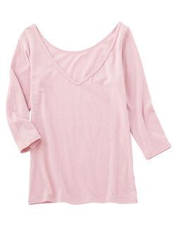 【綿94%・吸湿発熱であったか】It'sホッティナチュラルコットン 8分袖シャツ