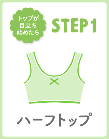 【STEP1】ハーフトップ