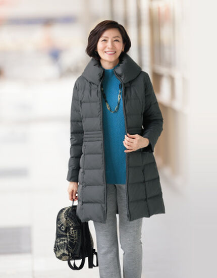 ゆらら -冬を楽しむ 大人の着こなし