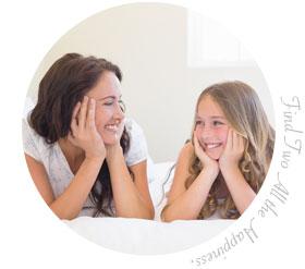 家族でペア活:ママ&娘こっそりペア活