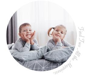 家族でペア活:ママ&娘・息子お部屋でペア活