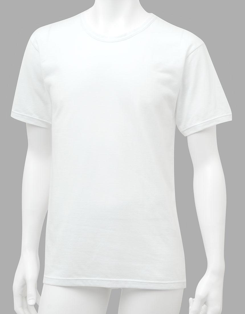 ワコールメン 【綿100%・吸汗速乾】 半袖シャツ WL6060・KO