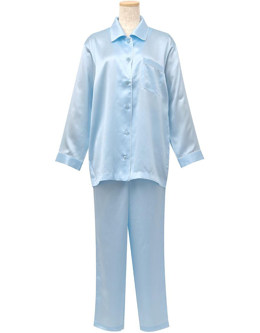睡眠科学 シルクサテン パジャマ YDX508・SX