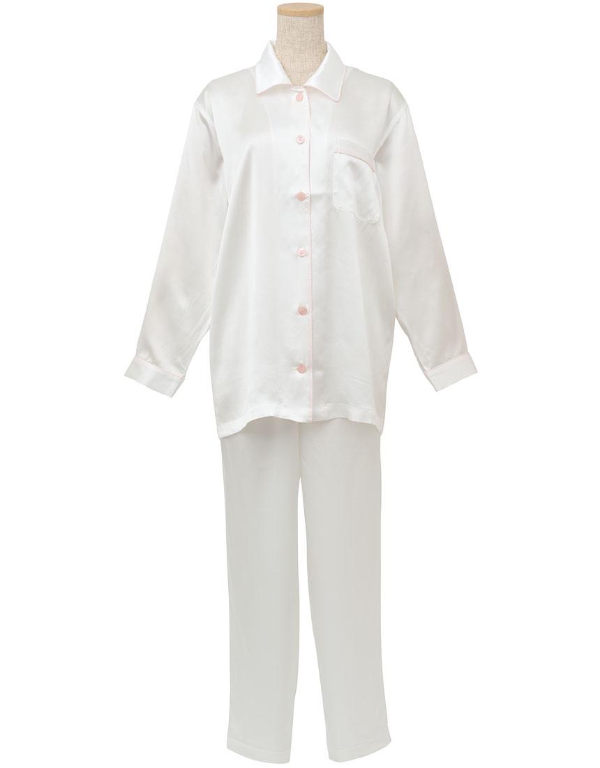 睡眠科学 シルクサテン パジャマ YDX508・RP