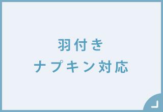 サニタリーショーツSHOP・羽付きナプキン対応